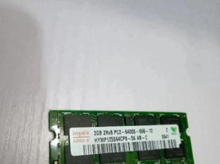 2GB DDR2 6400s Laptop Memory