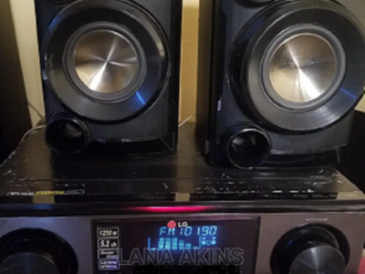LG ARX8500 1250W A/V Receiver Home Theater System
