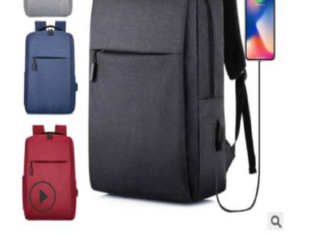 Invisible Zipper With USB Charging Backpack