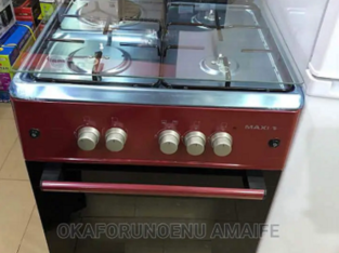 Maxi Gas Cooker 3 Gas One Electric