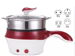 Electric Rice Cooker Hotpot Non-Stick Food Noodle