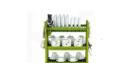 Happy Home 3 Layer Durable Plastic Dish Rack