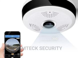 360 Panoramic Wifi Camera