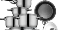 Hoffner 8pcs Stainless Kitchen Pots