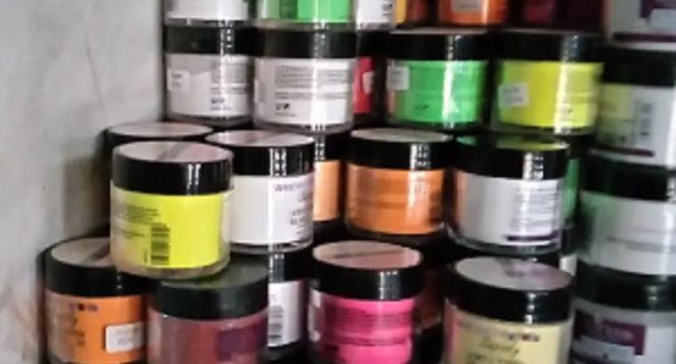 Acrylic Coloured Powder