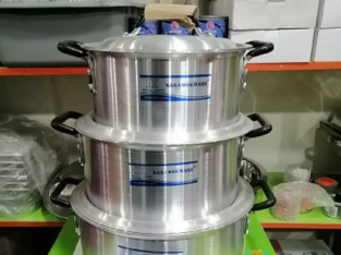 Heavy Guage Cooking Pot Set of 3