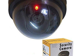 Realistic Looking Dummy CCTV Camera With Flashing