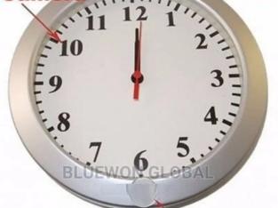 Hidden Wall Clock Spy Camera