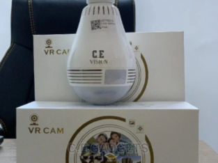 Wifi Bulb Camera With Two-Way Audio