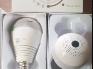V380 Wifi Panoramic Bulb Camera
