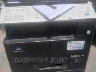 Bizhub 215 Printer/ Photocopy Machine