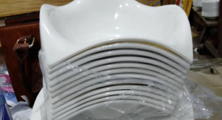 Unbreakable Plates (White)
