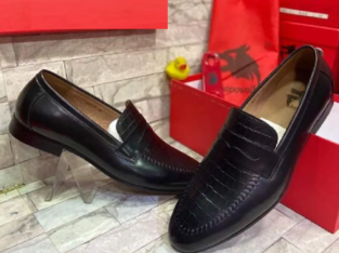 Pure Leather And Quality Cooperate Cover Shoes