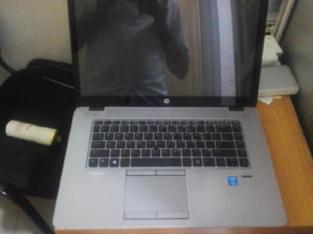 UK Used HP 850 Ultrabook Keyboard Light Laptop