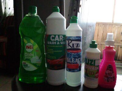 Car Wash, Dish wash, Air freshener, Bleach &Hand w