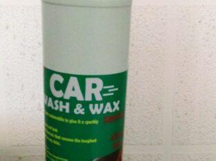 Car wash and wax Soap