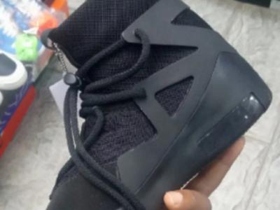 Nike Fear of God Men's Black Sneakers