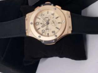 Hublot Mens Black Wristwatch