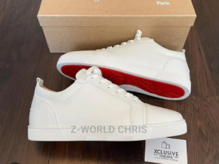 Christian Louboutin Men's White Sneakers