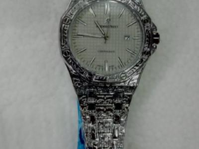 Audemars Piguet Mens Silver Wristwatch